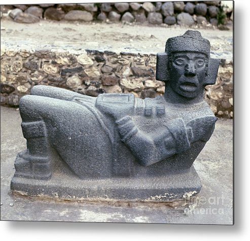 10th Century Metal Print featuring the photograph Mexico: Toltec Altar by Granger