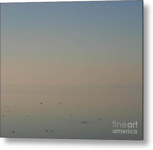 Morecambe Bay Metal Print featuring the photograph Morecambe Bay Sunset by Andy Mercer