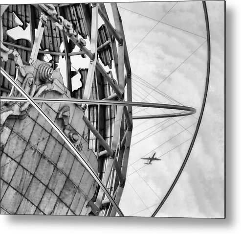 Nyc Metal Print featuring the photograph Nyc Worlds Fair 1964 Today by Chuck Kuhn
