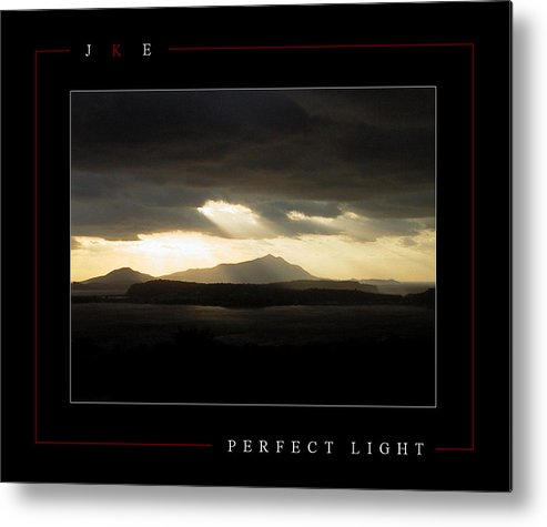 Italy Metal Print featuring the photograph Perfect Light by Jonathan Ellis Keys