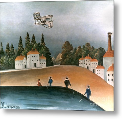 1908 Metal Print featuring the photograph Rousseau: Fishermen, 1908 by Granger