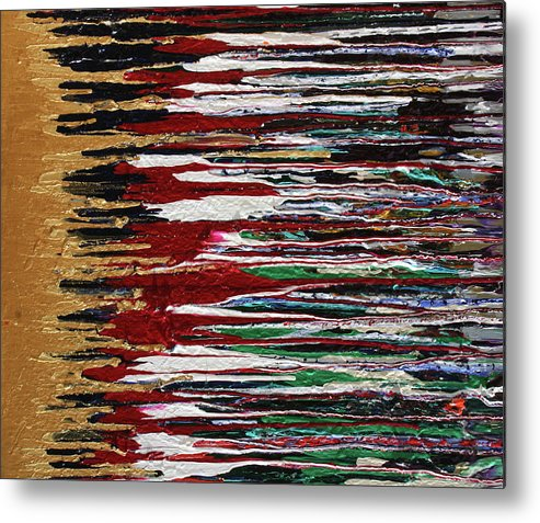 Fusionart Metal Print featuring the painting Tears Of The Sun by Ralph White