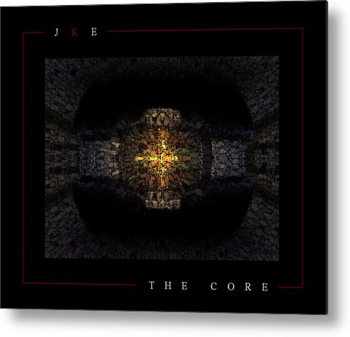 Car Metal Print featuring the photograph The Core by Jonathan Ellis Keys