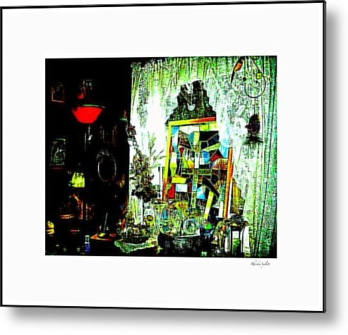 Life Metal Print featuring the mixed media The Window by YoMamaBird Rhonda