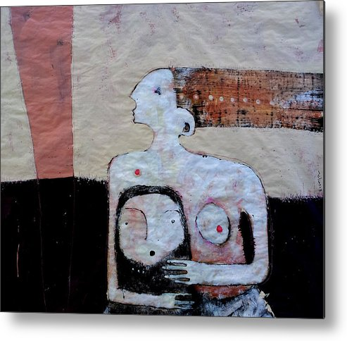 Age Metal Print featuring the painting Aetas No 3 by Mark M Mellon