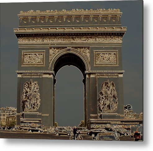 Monument Metal Print featuring the photograph Arc by Greg Thiemeyer