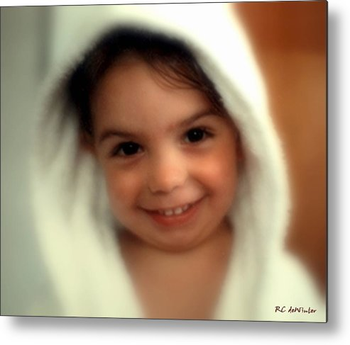Child Metal Print featuring the photograph In Da Hood by RC DeWinter