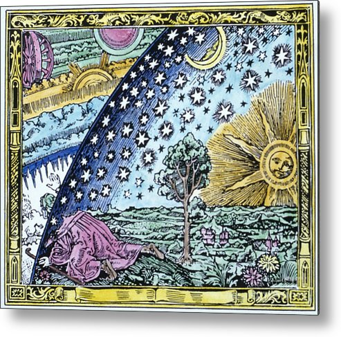 1530 Metal Print featuring the photograph Astronomer, 1530 by Granger