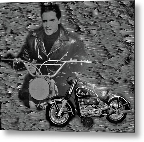 Metal Print featuring the photograph Elvis by Miriam Marrero