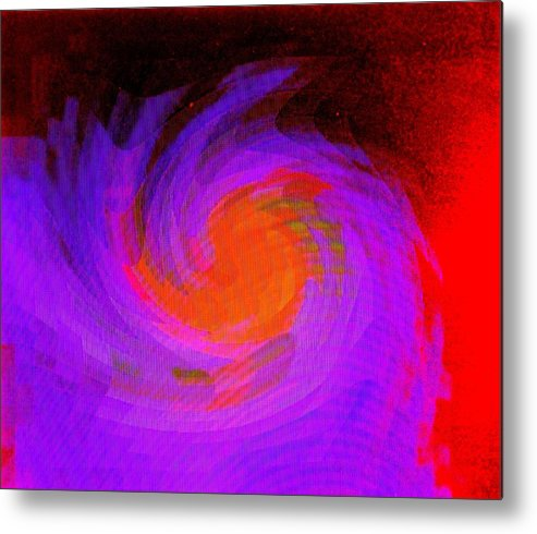 Abstract Metal Print featuring the digital art Escape by Ian MacDonald