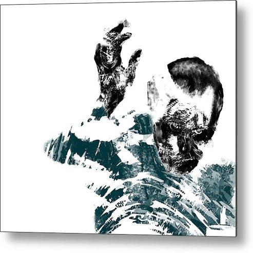 Ghoul Metal Print featuring the digital art Ghoul by Travis Melms