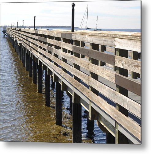 Charlotte Harbor Metal Print featuring the photograph Infinity II by Sandy Poore