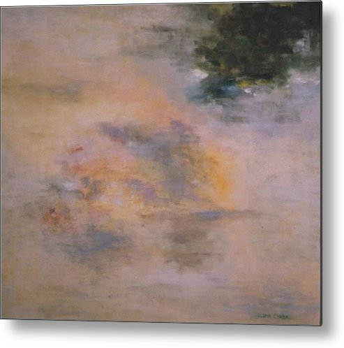 Space Metal Print featuring the painting Mood by Elena Carral Cuevas