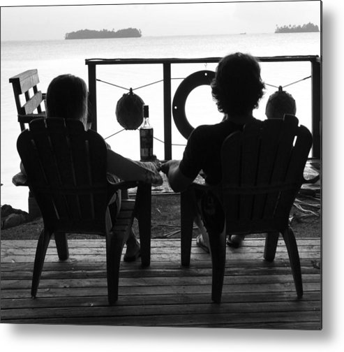 Palmyra Atoll Metal Print featuring the photograph Sunset Cocktail Hour by Tom Smet