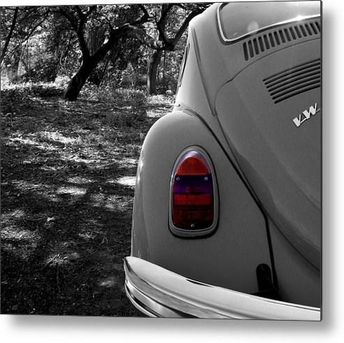 Automobile Metal Print featuring the photograph Woodland Beetle by Chris Cox