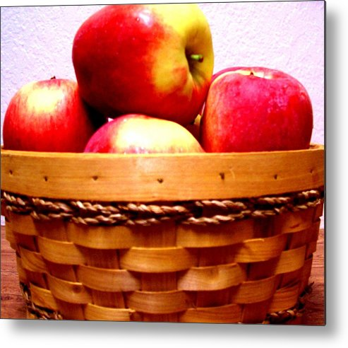 Apples Metal Print featuring the photograph An Apple A Day by Kevin D Davis