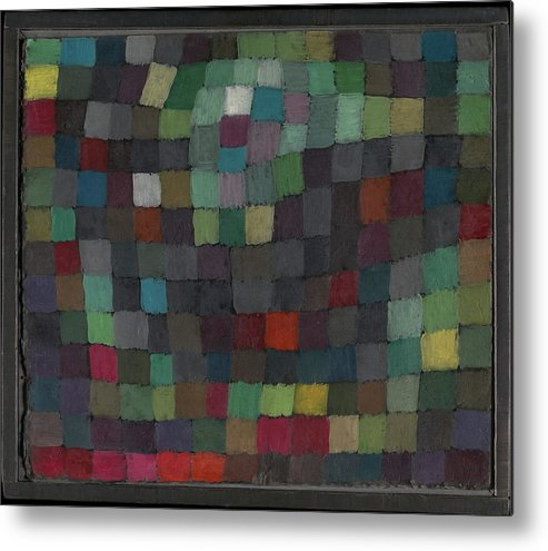 Paul Klee May Picture Metal Print featuring the painting May Picture by Paul Klee