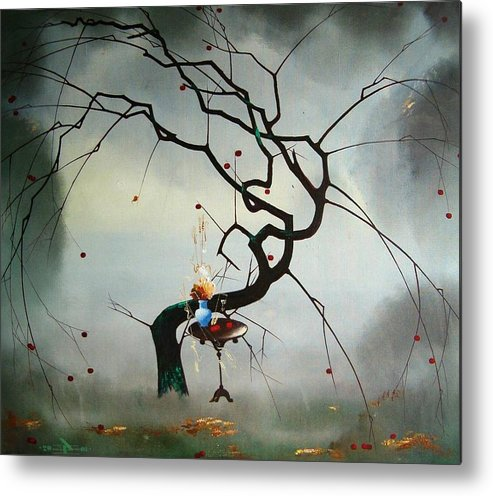 Still Life Metal Print featuring the painting Autumn by Andrej Vystropov