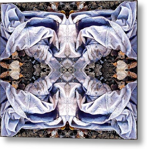 Abstract Metal Print featuring the digital art Church Clothing by Ron Bissett