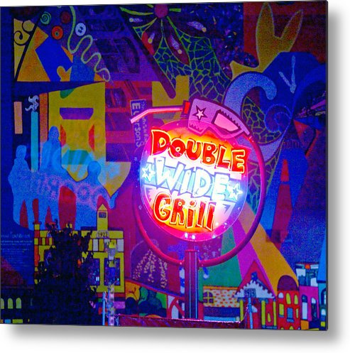 Pop Art Metal Print featuring the photograph For Van Cordle My Friend by John Toxey