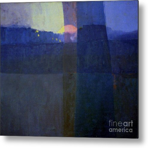Abstract Metal Print featuring the painting Holocaust by Donald Maier