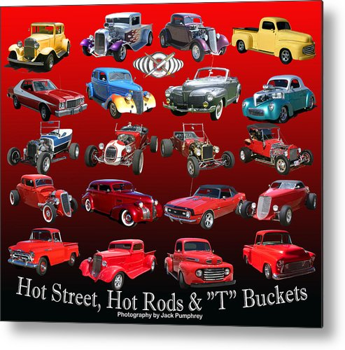 Imagine How Nice This Will Look On Display In Your Office Or Garage Metal Print featuring the photograph Car Show And Shine Poster by Jack Pumphrey