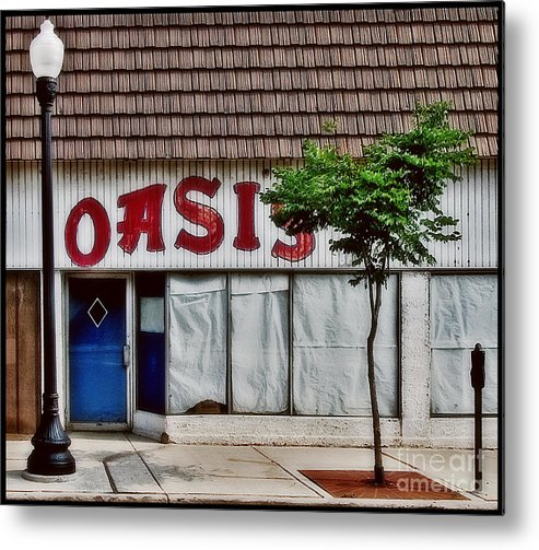 Color Metal Print featuring the photograph Oasis by Curtis Staiger