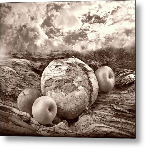 Bread Metal Print featuring the photograph Our Daily Bread by Manfred Lutzius