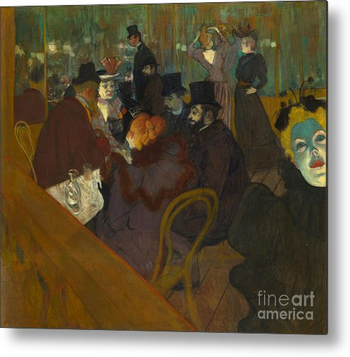 1894 Metal Print featuring the photograph Toulouse-lautrec Moulin Rouge by Granger