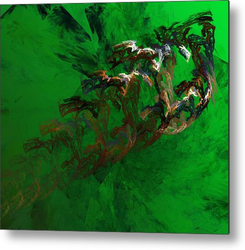 Digital Painting Metal Print featuring the digital art Untitled 01-15-10 by David Lane