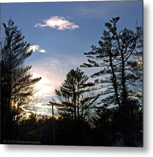 Sunset Metal Print featuring the photograph Dazzling Sunset by Catherine Melvin