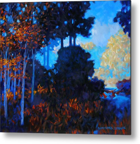 Landscape Metal Print featuring the painting Dreamscape by Kevin Lawrence Leveque