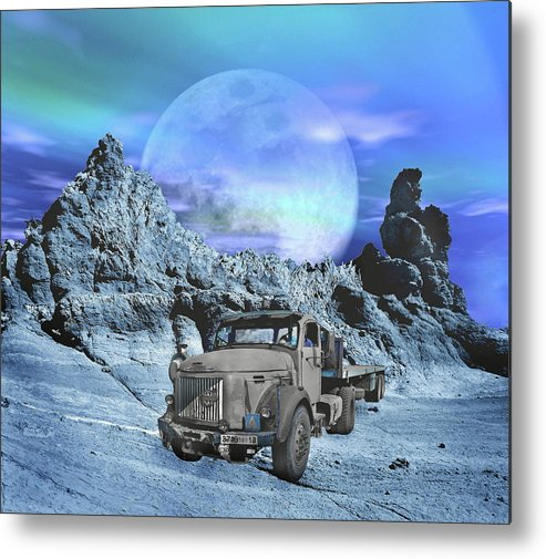 Old Metal Print featuring the photograph Forgotten by Manfred Lutzius