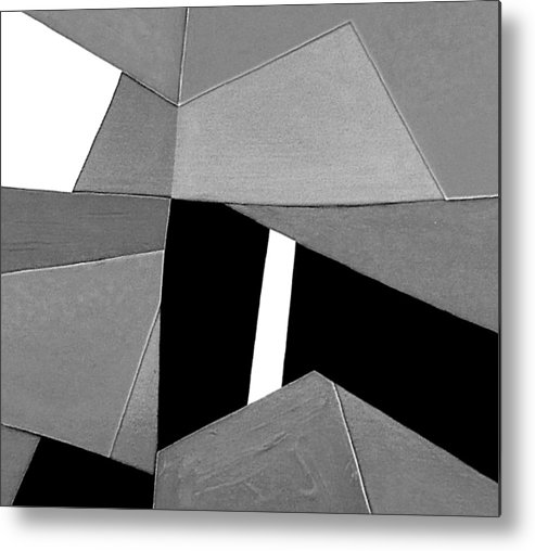 Abstract Metal Print featuring the photograph Closing Time Detail 2 by Dick Sauer