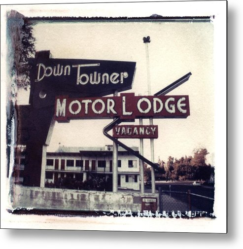 Landscape Metal Print featuring the photograph Down Towner by Jane Linders