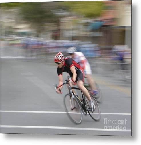 A Metal Print featuring the photograph Leading The Pack by Mark Hendrickson