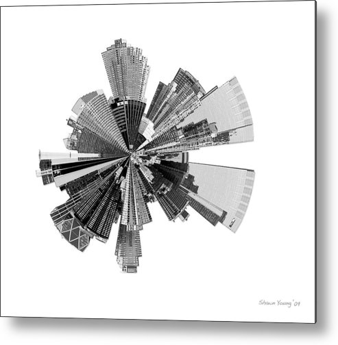 New York City Metal Print featuring the photograph New York City Lily by Shawn Young