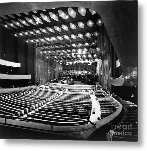 1962 Metal Print featuring the photograph New York: Lincoln Center by Granger
