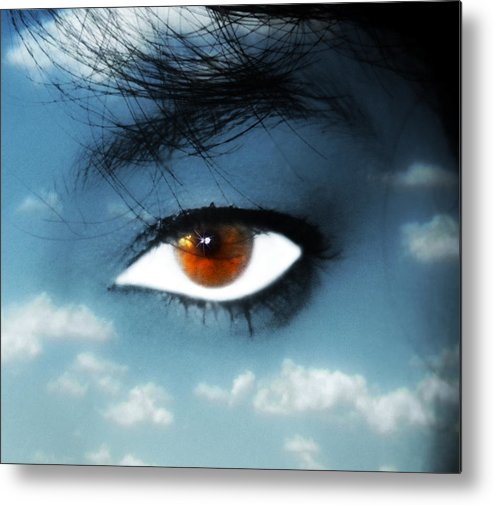 Eye Metal Print featuring the photograph Soul by Yvonne Emerson