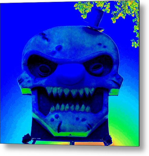 Seattle Metal Print featuring the photograph Grunge City Demon 3 by Randall Weidner