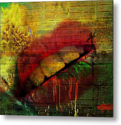 Jerry Cordeiro Metal Print featuring the photograph Honey Drip by The Artist Project