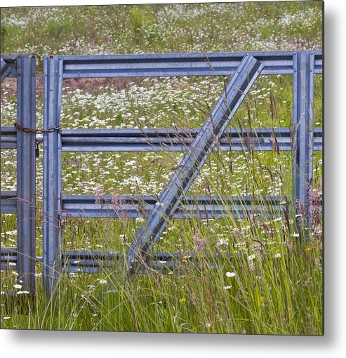 Gate Metal Print featuring the photograph The Gate by Rebecca Cozart