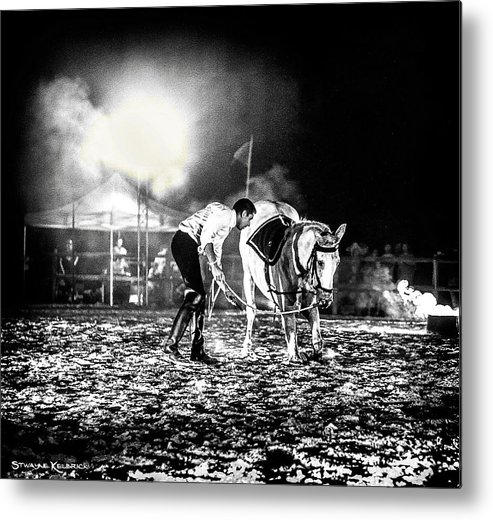 Horse Metal Print featuring the photograph The Horse That Suffered by Stwayne Keubrick