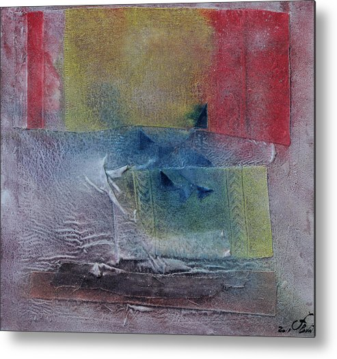 Color Abstract Metal Print featuring the painting Spring 1 by Jorge Berlato