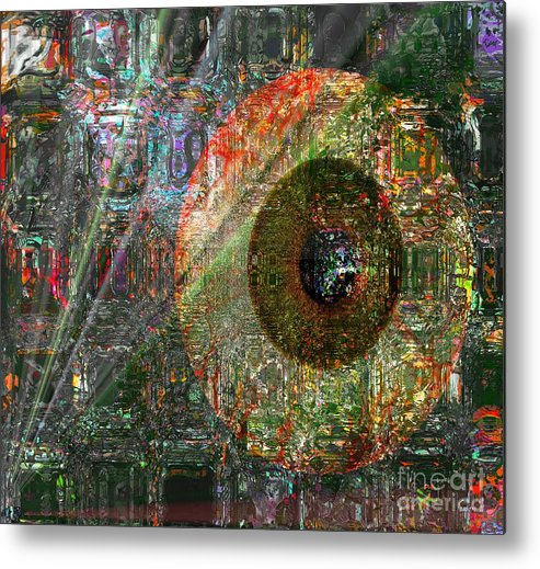 Fania Simon Metal Print featuring the digital art Savior Watching Over Me by Fania Simon