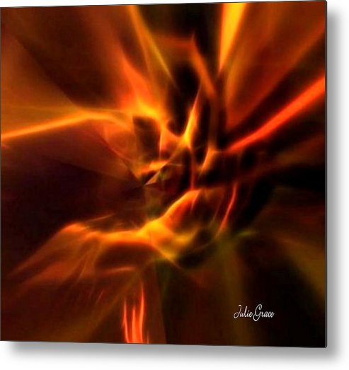 Hands Metal Print featuring the digital art Hands Of Love by Julie Grace