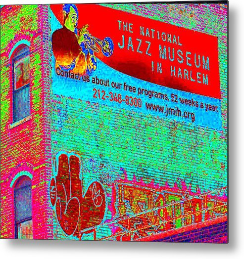 Harlem Metal Print featuring the photograph Jazz Museum by Steven Huszar