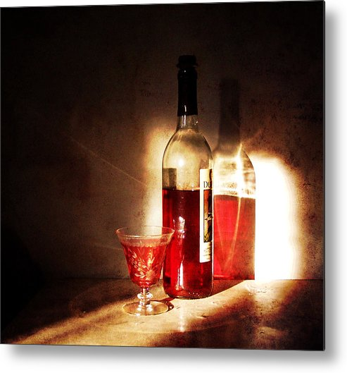still Life Metal Print featuring the photograph Morning And Night by Deborah Smith