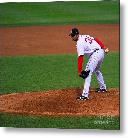 Pawtucket Red Sox Metal Print featuring the photograph 147 by Carol Christopher