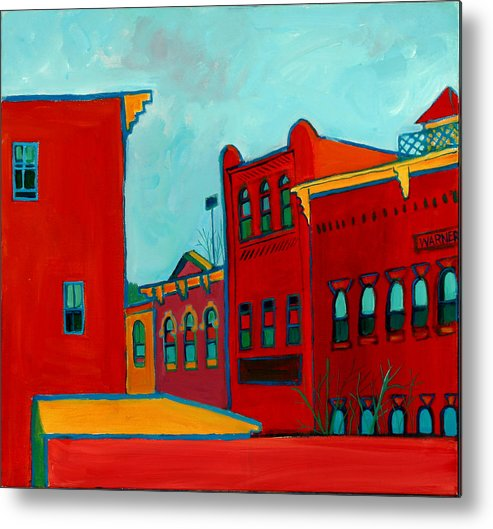 City Metal Print featuring the painting Opera House by Debra Bretton Robinson